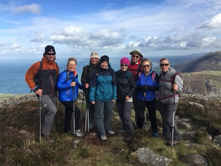 Hiking in Wales and Snowdonia