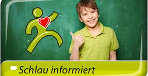 Start der neuen Initiative: Schlau informiert