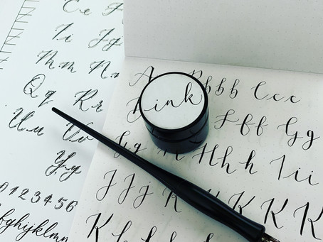 Calligraphy: Why you need this skill in your life NOW!
