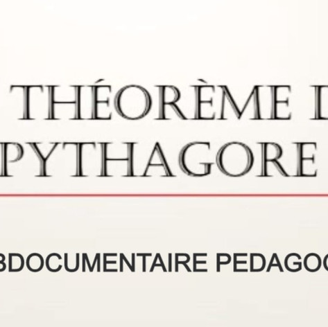 Théorème de Pythagore - Webdoc pédagogique