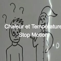 Chaleur et température - Stop Motion