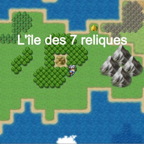 L'île des 7 reliques