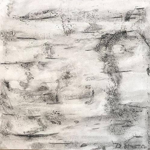 Original Birch Bark Textural Art