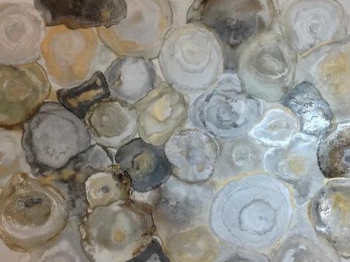 Sliced Agate Print