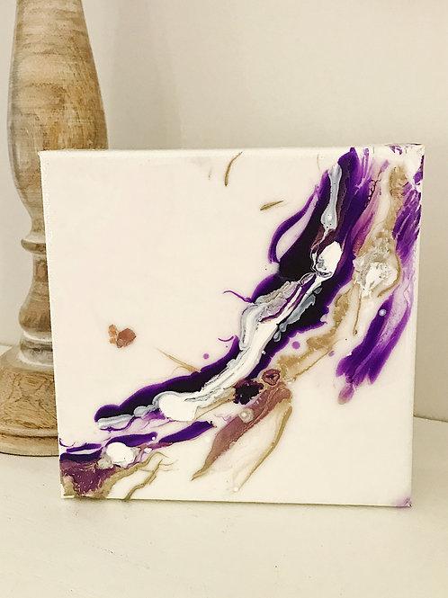 Ultra Violet Mini Art: Gold