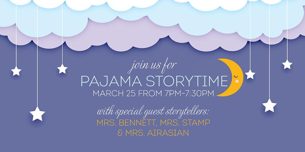 Pajama Storytime!