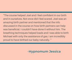 Testimonial Jessica Louise