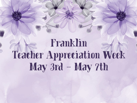 Teacher Appreciation Week recap!
