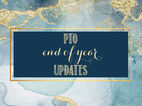 End of Year Updates from the Franklin PTO!