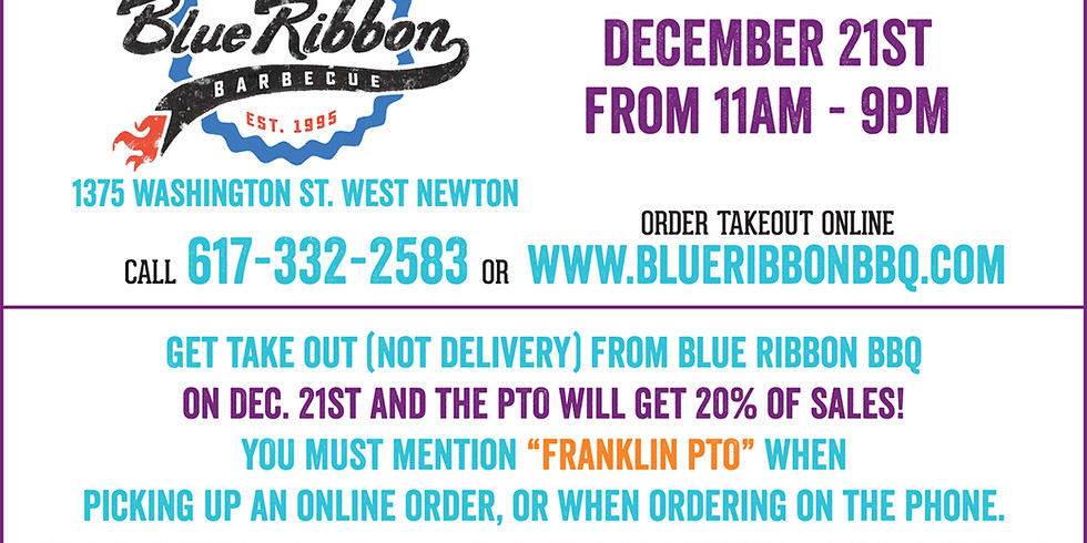 """Dining for Dollars"" at Blue Ribbon BBQ Fundraiser!"