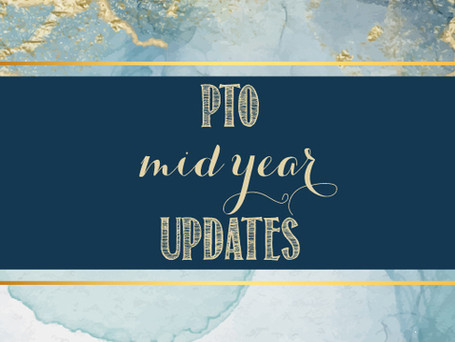 PTO Updates & Important Dates for the second half of the year!