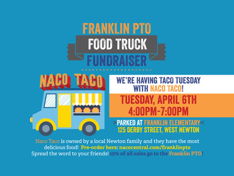 🌮 Naco Taco Food Truck is coming today for TACO TUESDAY!