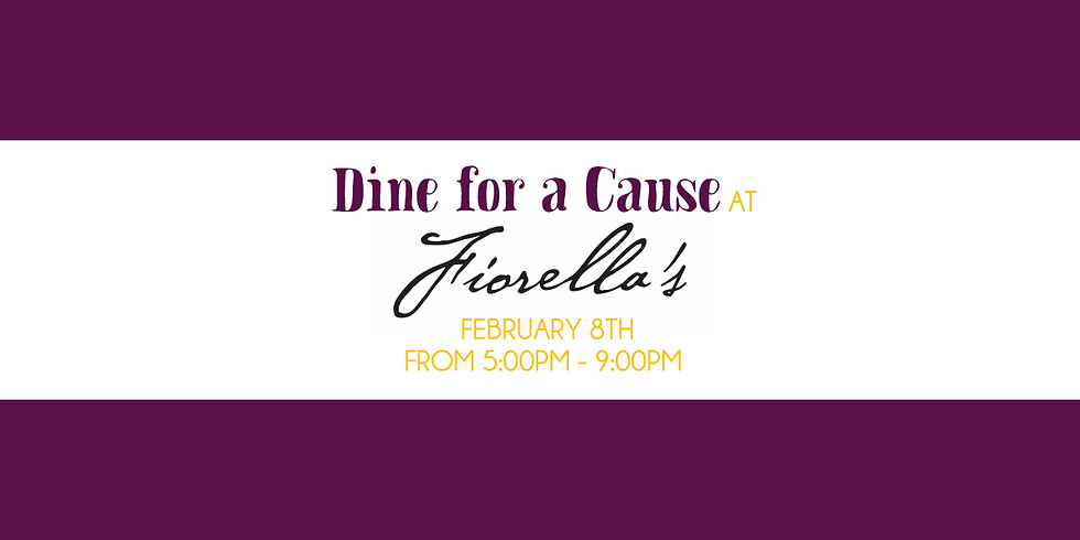 """""""Dine for a Cause"""" at Fiorella's Restaurant Fundraiser"""