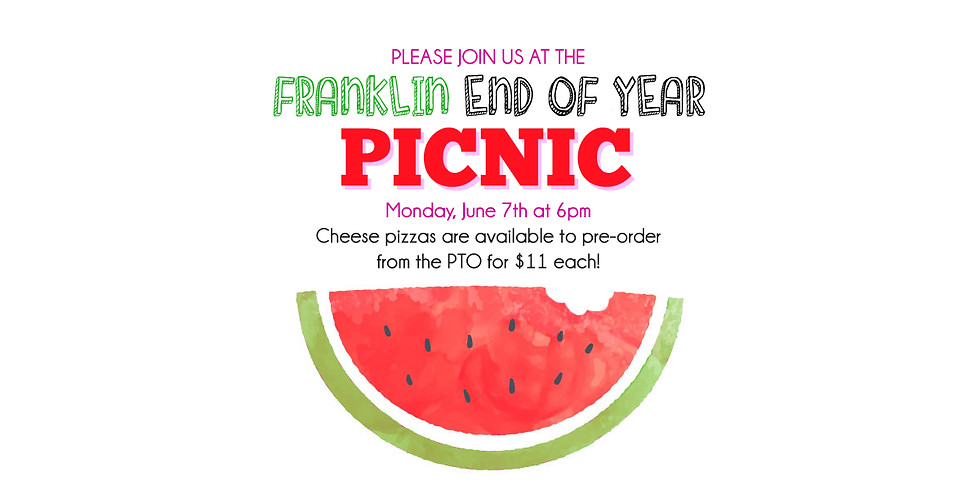 End of Year Picnic!