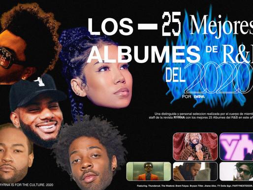 Los 25 Mejores Albumes de R&B del 2020