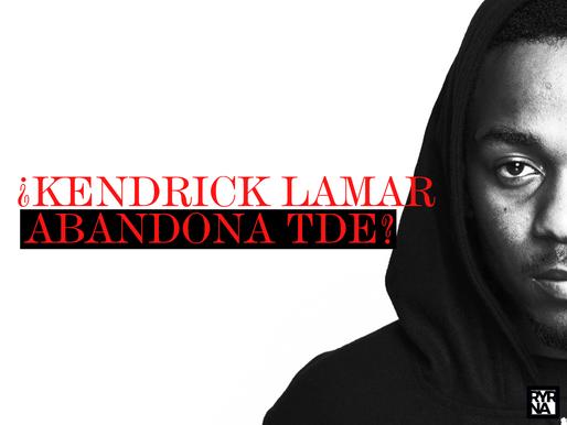 ¿Kendrick Lamar abandona TDE?