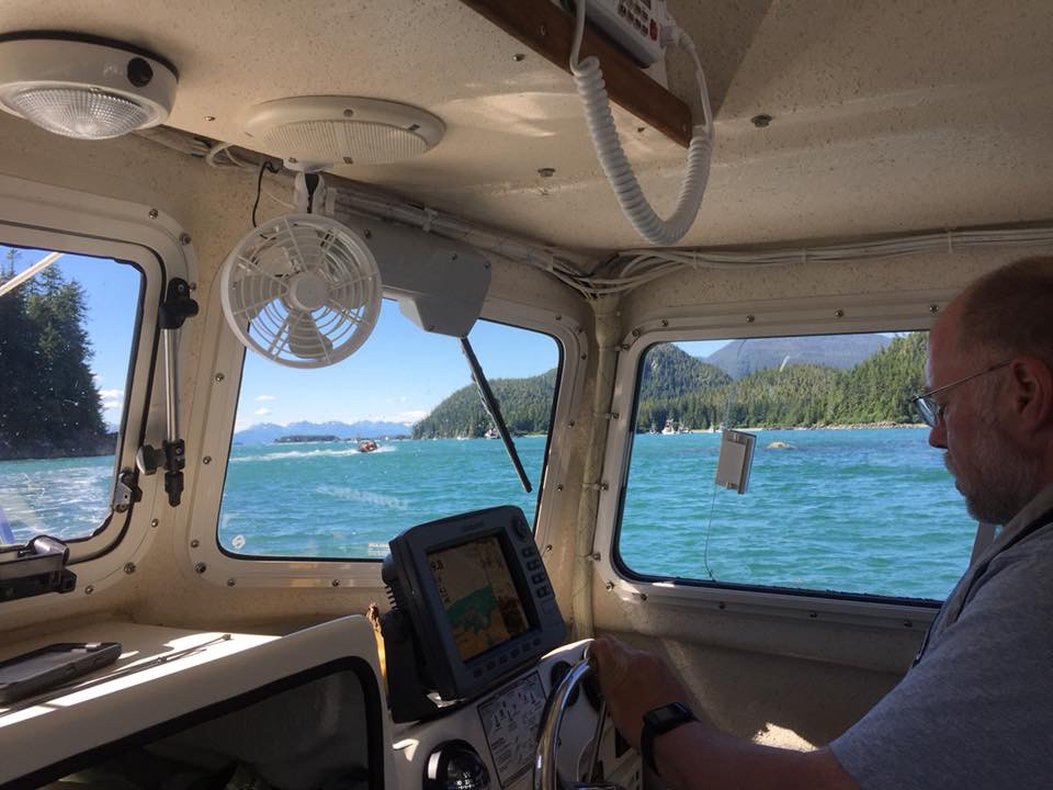 Bivocational pastor Todd Buck, who travels by boat or ferry to Tenakee Springs, Alaska, will lead a Thanksgiving gathering as church members count God's blessings. (Photo submitted)