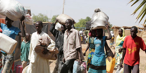 Christians flee attacks from Islamist militants. (Photo Courtesy NAIJA247 News)
