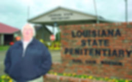 Louisiana State Penitentiary warden, Burl Cain