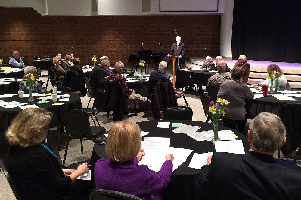 The Tennessee Baptist Historical Society held its 20th annual meeting March 8 at the SBC Building in Nashville. Photo by David Roach