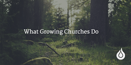 What Growing Churches Do (Image courtesy Churchfuel.com)