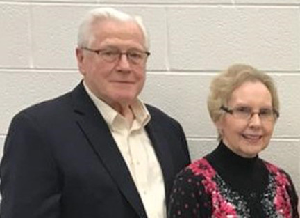 Pastor James and Kay Jones of First Baptist Church of Trenton, Mich., have been married for 61 years. He has led the church twice from 1960-'83 and since 1999. (Photo submitted by James Jones.)