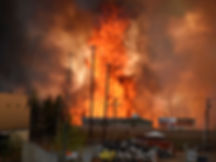 Wildfire consumes everything in its path with no end in sight. (Photo courtesy cbsnews.com)