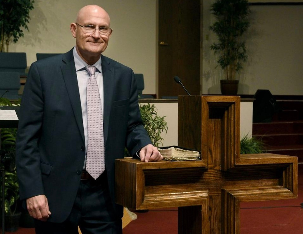 Rev. Roy Southerland, senior pastor at Monroe Missionary Baptist Church, will leave his post May 31. (Courtesy photo)