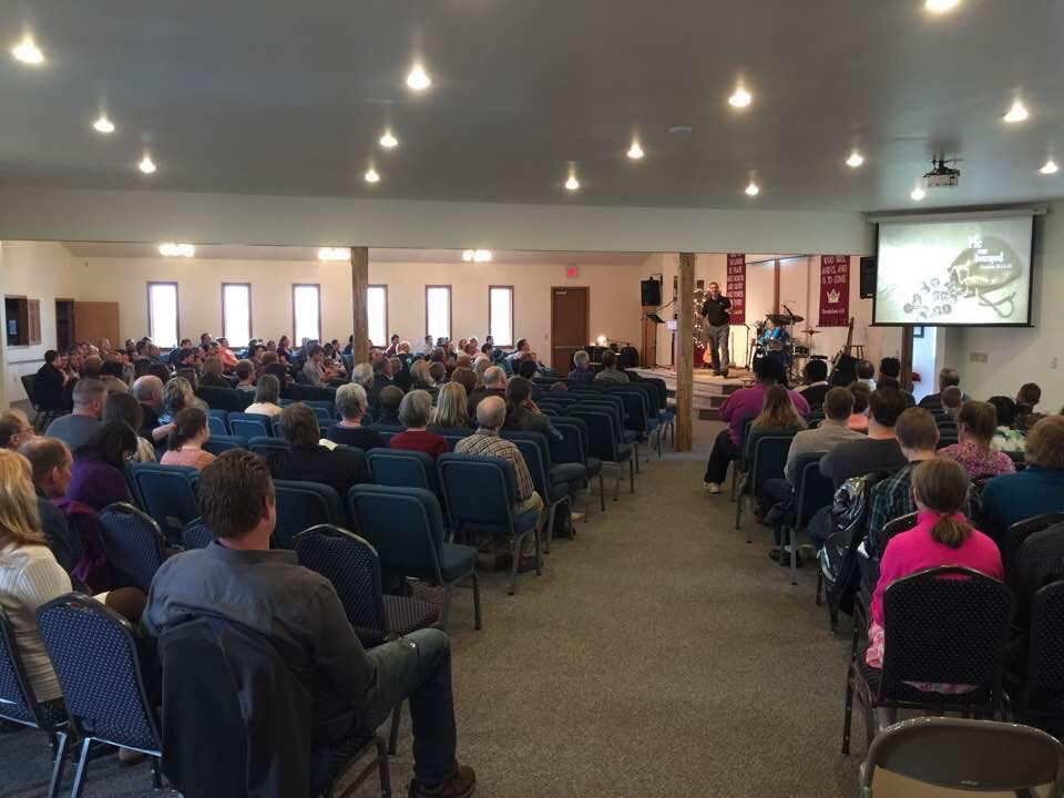 Expanded space at Houghton Baptist Church. (Photo courtesy Houghton Baptist Church)