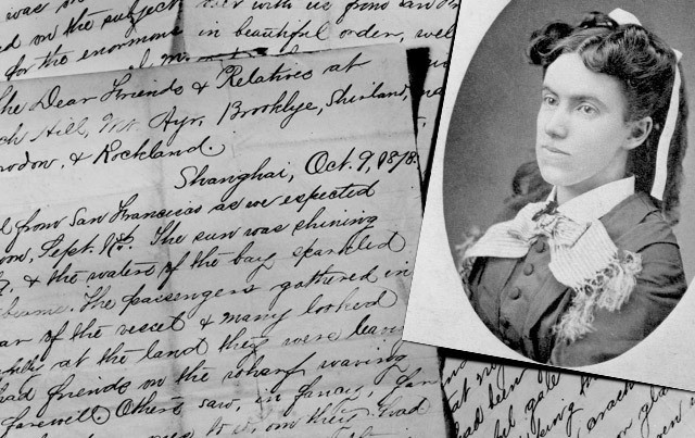 Lottie Moon constantly wrote letters but also kept incredibly details records of her experiences and often her recipes. (Photo courtesy of IMB.org/lmco)