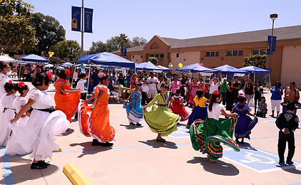 The Spanish emphasis Block Party in the church parking lot was a excellent way to welcome the Latino community into the church. (Photo courtesy St. Stephens Missionary Baptist Church)