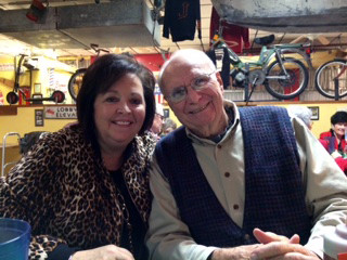 For more than a decade, Amy and Bill Roussel have hosted a Christmas dinner for widows and widowers of First Baptist Church in Searcy, Ark. (Photo courtesy of Bob and Karen Davis)