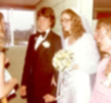 Tony and Jamie Lynn on their wedding day.