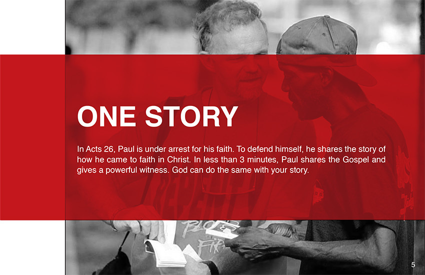 We all have a story to share, if we have accepted Jesus as our Lord and Savior.  Mi-moment reveals an easy way of sharing your story with others.
