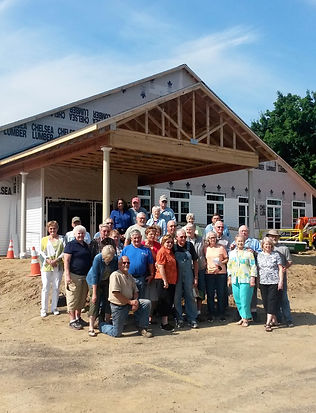 Construction of new building begins in 2015.(Courtesy Harmony Baptist Church)