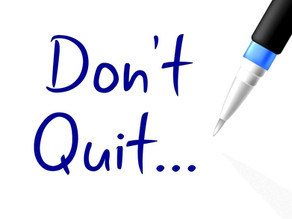 Don't quit: how to succeed in ministry