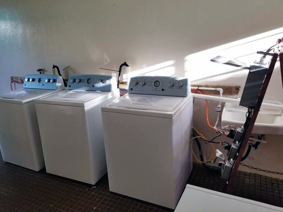 Jorge Santiago and his wife Rebeca used a gift from Rebeca's father's church to purchase washing machines for the Comerío community to alleviate washing clothes by hand. In the aftermath of Hurricane Maria, Santiago noticed that this need was being overlooked, and he and his wife believed God would provide for their needs if they purchased three machines. (Photo from Facebook)
