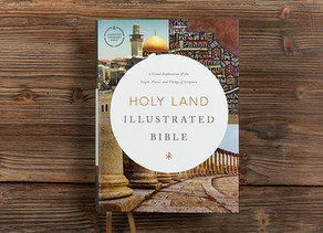 New study Bible takes readers on a Holy Land journey