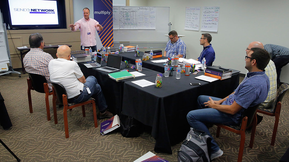 The North American Mission Board has developed pipeline training essential to a growing church. (Photo courtesy NAMB.net)