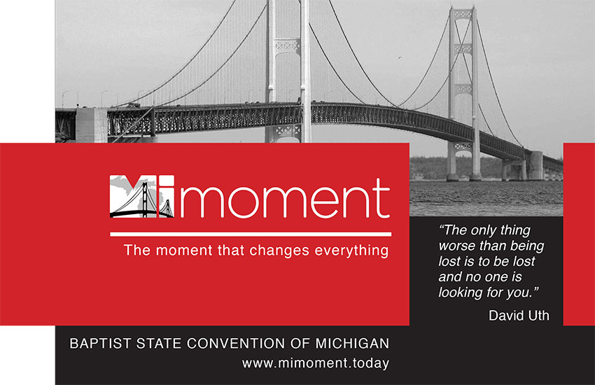 Mi-Moment is designed to teach anyone how to effectively and efficiently share their story of faith.