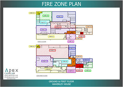 Fire Zone Plan for a shop