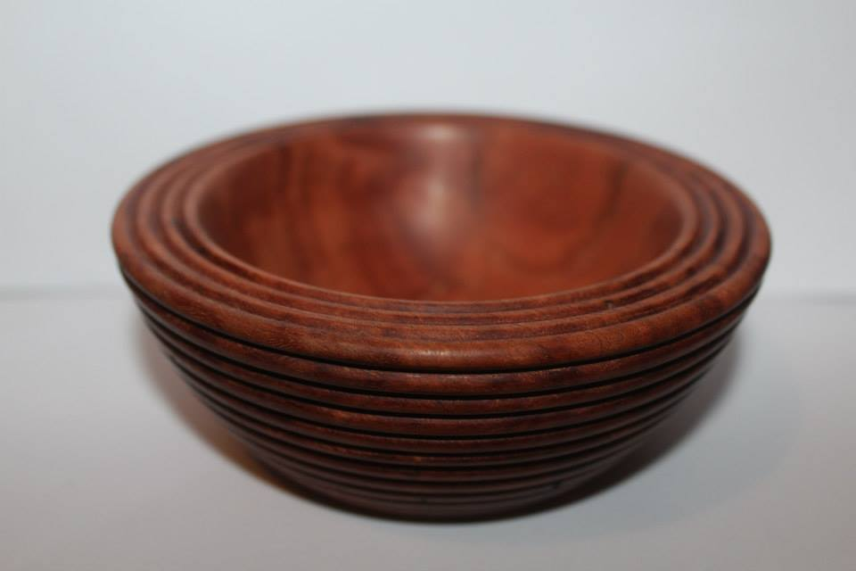 Red gum bowl