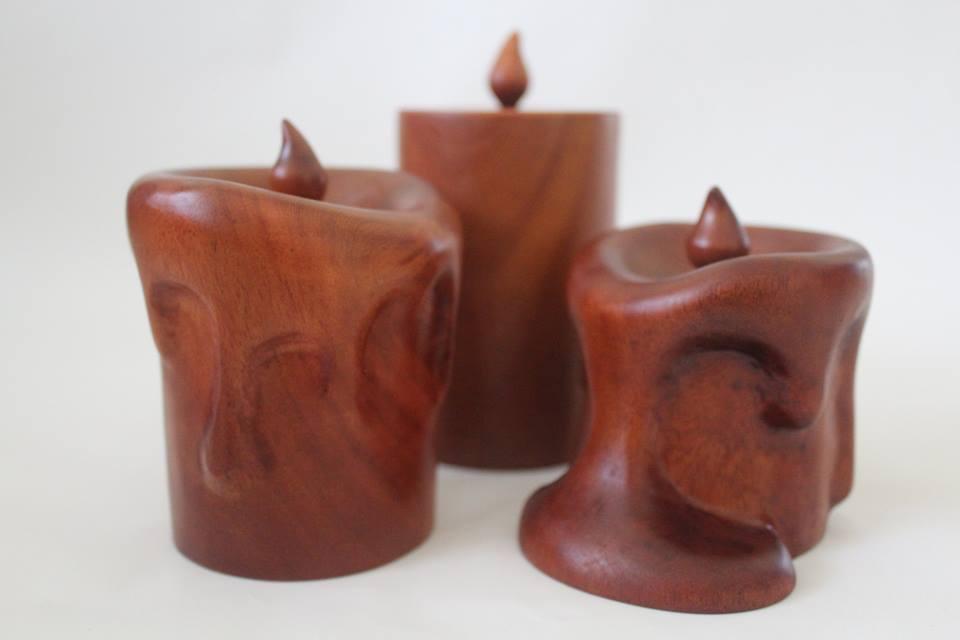 Timber candles
