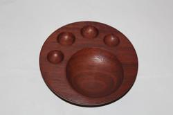 Jarrah paw print bowl