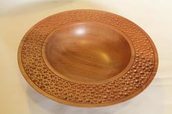 Aero bowl, mahogany