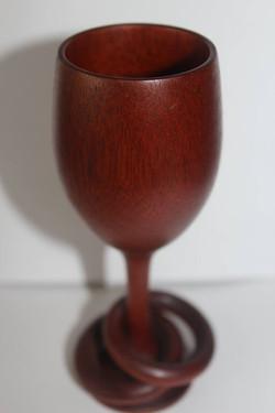 Rosewood goblet