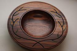 Wattle carved blackwood