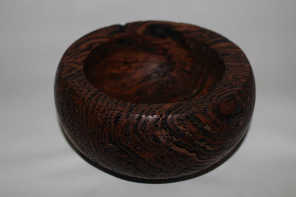 Blackbutt burl bowl