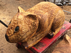 Chainsaw wombat