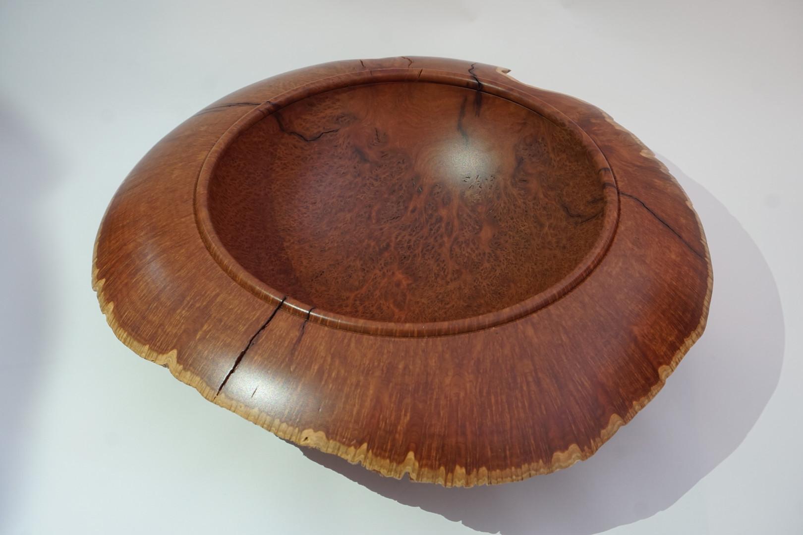 Coolibah burl bowl